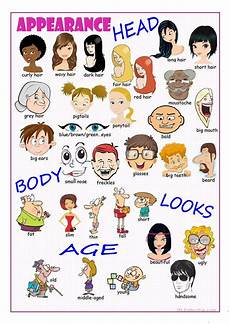 describing s appearance worksheet esl 15907 appearance picture dictionary worksheet free esl printable worksheets made by teachers