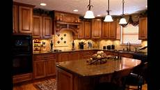 cherry cabinets with black granite countertops marble kitchen youtube