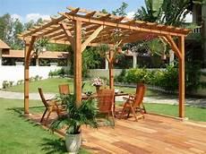 garten pergola selber bauen 20 beautiful backyard wooden patio ideas
