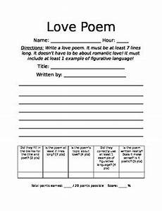 ode poetry worksheets 25337 write a poem worksheet by mrs fs classroom materials tpt