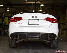 ap b8s4sl 611 agency power carbon fiber rear diffuser audi b8 a4 s line