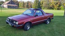 Subaru Brats For Sale by 1984 Subaru Brat Gl 4x4 4 Speed For Sale On Bat Auctions