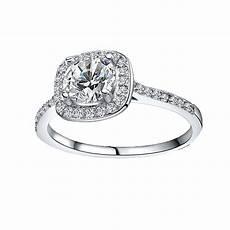 elegant square diamond wedding ring fashion jewelry