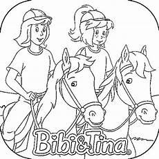 bibi und tina ausmalbilder ausmalbildertv