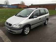 Vauxhall Opel Zafira 2 0dti 16v Elegance 2002 12