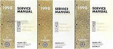 service manuals schematics 1998 oldsmobile silhouette auto manual 1998 venture trans sport silhouette repair shop manual original 3 vol set