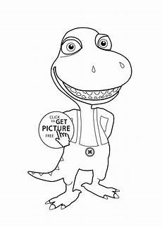 dinosaur coloring page for printable free buddy