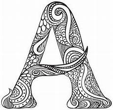mandala coloring pages letters 17930 a for abby zentangle drawings zentangle doodles zentangles