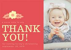 thank you card template for baptism blue baby stroller christening thank you card templates