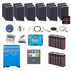 Kit Solaire Complet Avec Batterie Pour Maison Ventana