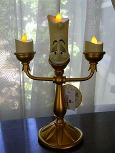 disney parks the beast lumiere light up candlestick 10 quot figurine new ebay