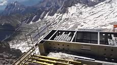 Die Neue Seilbahn Zugspitze Baustellen Besichtigung Am