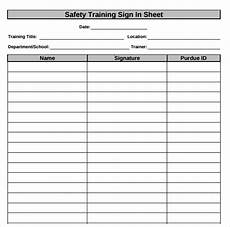 for safety meeting sign in sheet calendar 2015