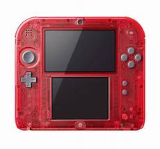 console nintendo 2ds new transparent nintendo 2ds announced system wars