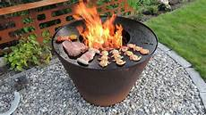 feuergrill feuerschale kobo 216 80cm griglie barbecue