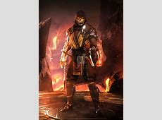 MORTAL KOMBAT 11   FIRE by iMizuri on DeviantArt