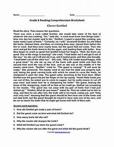 poetry comprehension worksheets for 6th grade 25247 reading worksheets sixth grade reading worksheets