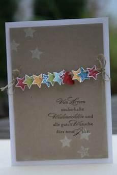 sternengirlande weihnachten karten weihnachtskarten