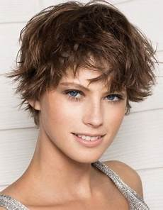 short tousled hairstyles for fine hair effect of your hairdo it is a must to use a flat iron