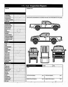 vehicle inspection report template free and free printable vehicle inspection form