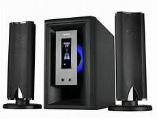 china 2 1 hi fi speaker with usb sd fm microphone