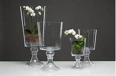 glasvase center vase glas kelch tischvase