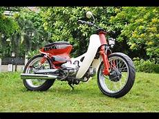 Modifikasi Motor Honda 70 by Foto Modifikasi Motor Honda 70 Retro Gokil Terbaru