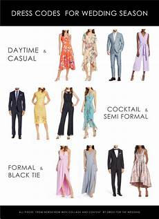 Dress Codes For Wedding