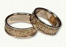 wedding bands traditionalsaying quot i am to my beloved as my beloved is to me