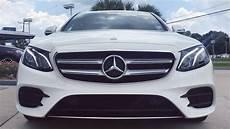 2017 mercedes e class e300 review start up exhaust