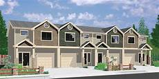 Apartment Zero Dc by House Front Color Elevation View For F 564 Four Plex House