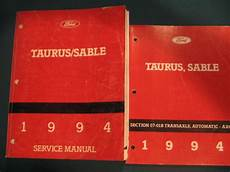 service and repair manuals 1987 ford taurus electronic toll collection 1994 ford taurus sable service manual section 07 01b transaxle automatic ax4n ebay