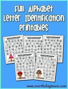letter recognition worksheets free 23287 alphabet letter identification printables
