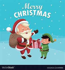merry christmas cartoon royalty free vector image
