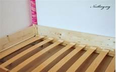 Lattenrost Selber Bauen - bodenbett f 252 r kinder floor bed selber bauen nestling