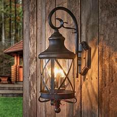 rustic outdoor wall light romantica lights ie