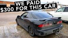 new cheap acura integra fwd project car youtube