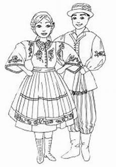 Malvorlagen Poland Headwear Of A Regional Costume From Szamotuły Poland