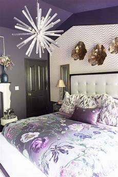 Bedroom Decorating Ideas Purple Walls by Purple Bedroom Decorating Ideas Create A Stunning Master