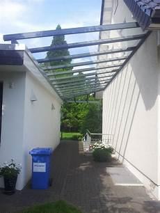 Carport Zwischen Haus Und Garage - vordach planung zeichnungen