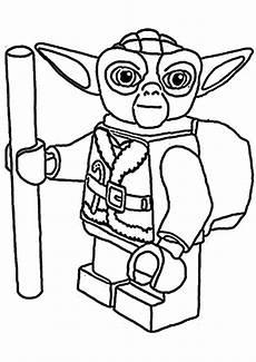 Lego Wars Yoda Ausmalbilder Lego Starwars Ausmalbilder Malvor