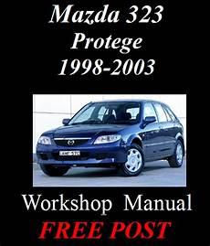 free car repair manuals 1994 mazda 323 spare parts catalogs mazda 323 protege 1998 2003 workshop service repair manual on cd the best ebay
