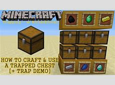 minecraft trapped chest wiki