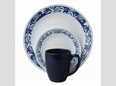 Corelle Livingware 16 Piece Dinnerware SET True Blue