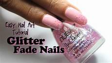 Easy Glitter Fade Nail Tutorial