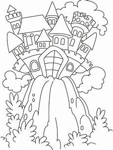 tales coloring pages to print 16664 tale castle on the hill coloring pages free tale castle on the hill