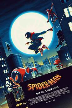 Malvorlagen Into The Spider Verse This Gorgeous Spider Into The Spider Verse Poster Has