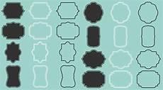 cornici digitali cornici digitali etichette tag set 24 disegni tra cui file