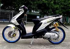 Honda Beat Modifikasi Simple by Modifikasi Honda Beat Standar Simple Desain Honda