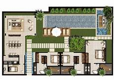 Tripadvisor Bali Luxury Villas Design Plan | 3 5 bedroom family villa floor plan chandra bali villas